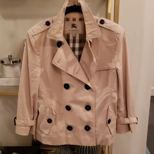 Burberry cropped trench US 8